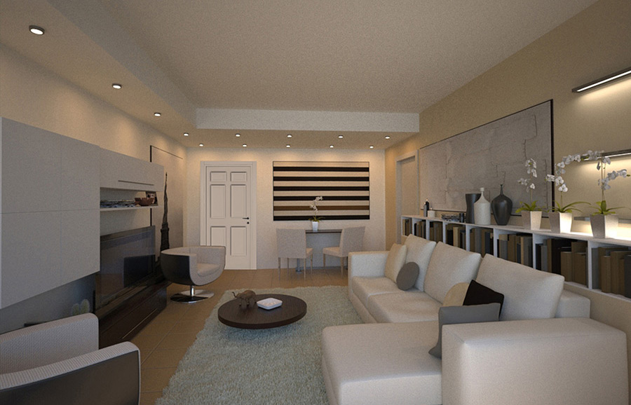 Arredamento interni monolocale arredamento monolocale for Stili di arredamento interni